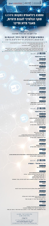 תוכנית 1 הסמכה בינלאומית הגנת הפרטיות אתר