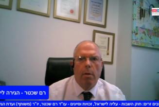 חוק השבות עליה לישראל, זכויות וסייגים