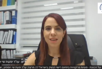 על הכוונת סוגיות פרקטיות בתחום רישוי הנשק בישראל